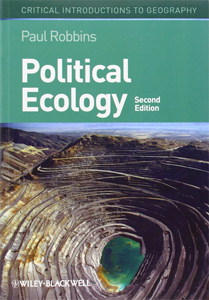 cover of book titled Political Ecology